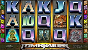 Play Tomb Raider Slots